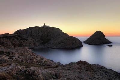 L'ile Rousse On Corsica Art Print