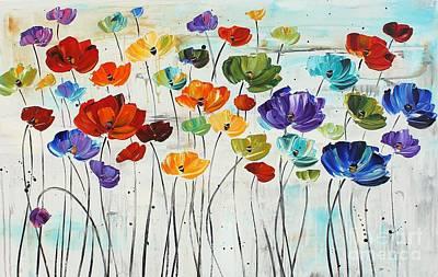 Liles Art Print by Jolina Anthony