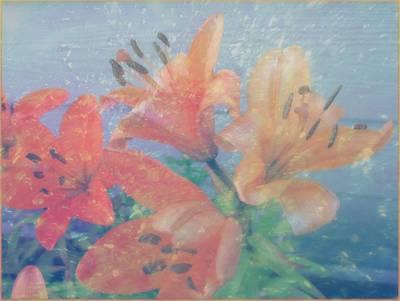 Lilies #1 Art Print