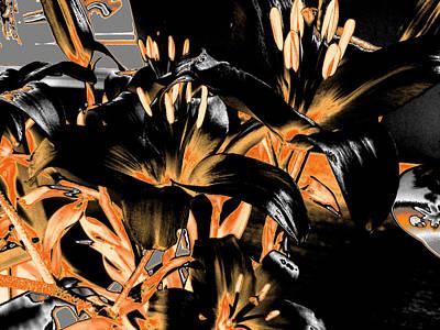 Photograph - Lilies #6 by Anne Westlund