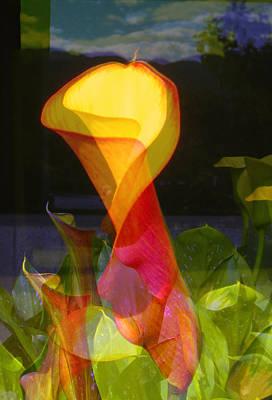Lilies Art Print by Eileen Shahbazian