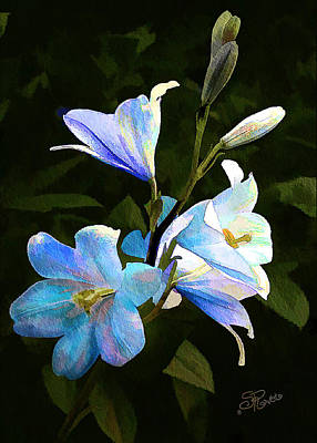 Painting - Lilies by Suni Roveto