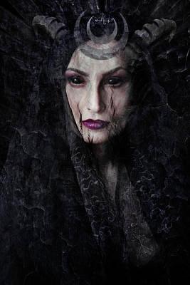 Demon Digital Art - Lilith  by Cambion Art