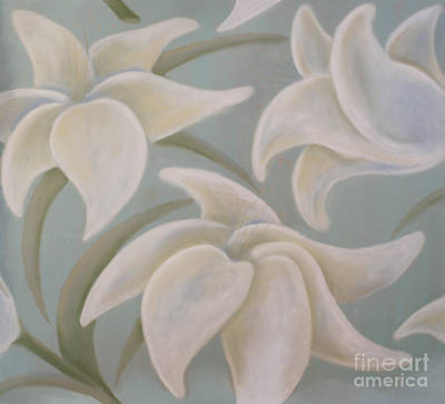 Painting - Lilium Earth by Flavia Westerwelle