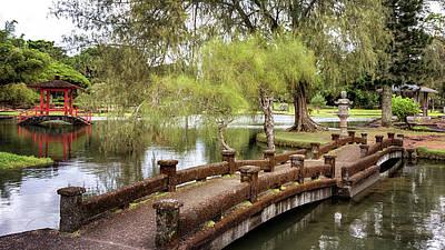 Photograph - Liliuokalani Gardens by Susan Rissi Tregoning