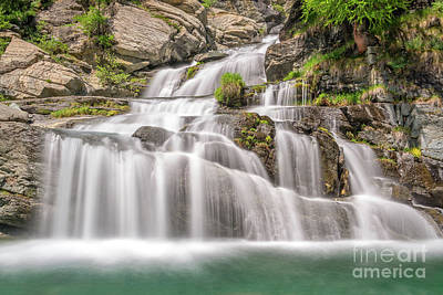 Photograph - Lillaz Waterfalls by Delphimages Photo Creations