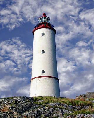 Photograph - Lille Torungen Lighthouse by Anthony Dezenzio