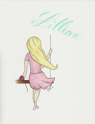 Painting - Lillian by Betsy Hackett