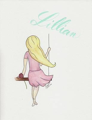 Painting - Lillian by Betsy Hackett