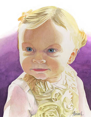 Painting - Lillian by Ferrel Cordle