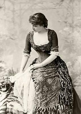Lillie Langtry 1853 To 1929 Born Emilie Art Print