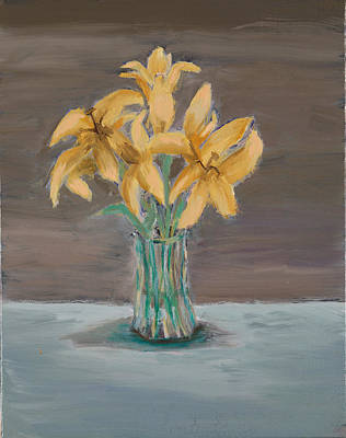 Painting - Lillies by Carmela Cattuti