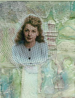 Netting Mixed Media - Lillie's Legacy by Pat Spear