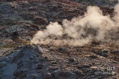 Photograph - Lilliputian Volcano by Charles Kozierok