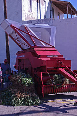 Photograph - Lilliston 1500 Peanut Harvester by Robyn Stacey