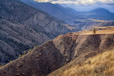 Photograph - Lillooet Mountain Range by Jacqui Boonstra