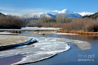 Photograph - Lillooet River by Frank Townsley