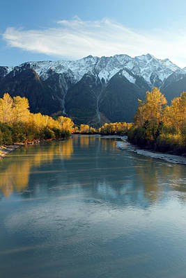 Photograph - Lillooet River Pemberton  by Pierre Leclerc Photography