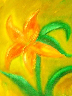 Lilly Art Print by BJ Abrams