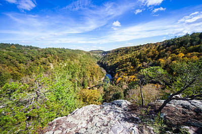 Photograph - Lilly Bluff Overlook At Obed Wild And Scenic River by Melinda Fawver