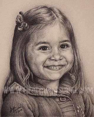 Graduation Gift Drawing - Lilly by Gretchen Barota