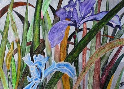 Lilly Art Print by John Vandebrooke