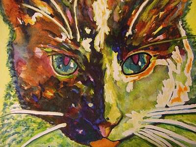 Painting - Lilly by Kim Shuckhart Gunns