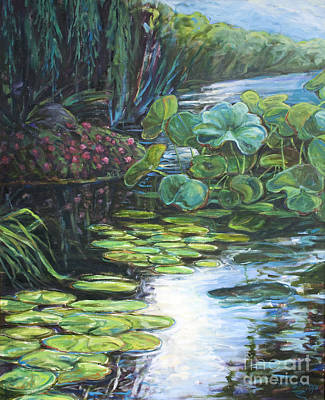 Lilly Pads Art Print by Gary Symington