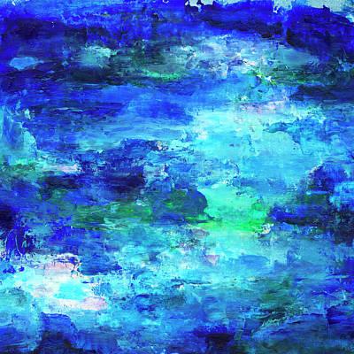 Painting - Blue Lagoon by Daniel Ferguson