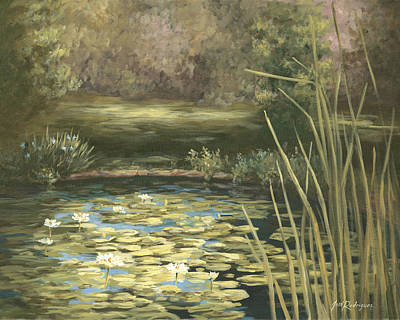 Lilly Pond Art Print