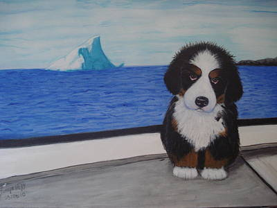 Lilly's Boat Trip Original by Tonya Hoffe