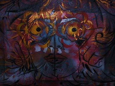 Lillys Glow Box   Art Print by Dorian Williams