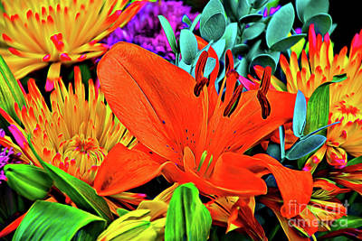 Photograph - Lily And Friends 122917-1 by Ray Shrewsberry