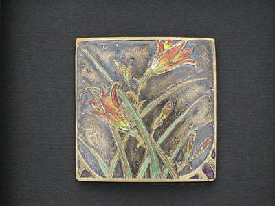 Mixed Media - Lily by Brenda Berdnik
