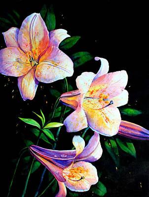 Lily Fiesta Art Print by Hanne Lore Koehler