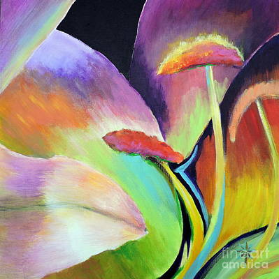 Painting - Lily Too by Jodie Marie Anne Richardson Traugott          aka jm-ART