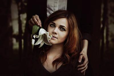 Photograph - Lily Kiss by Natalia Drepina