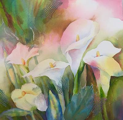 Painting - Lily Light II by Tara Moorman