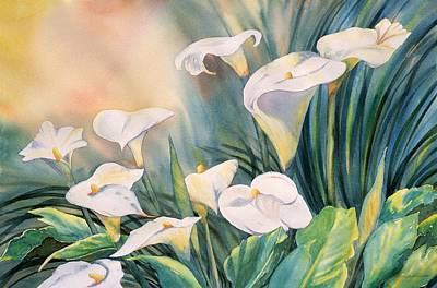 Painting - Lily Light by Tara Moorman