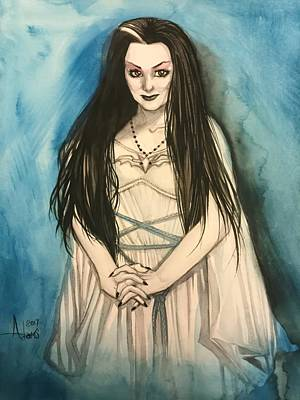 Painting - Lily Munster by Jimmy Adams
