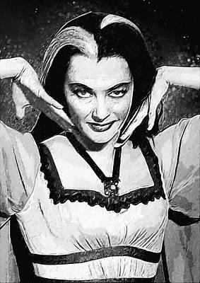 Lilies Royalty-Free and Rights-Managed Images - Lily Munster by Zapista