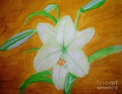 Painting - Lily Of Ecuador by Josie Weir