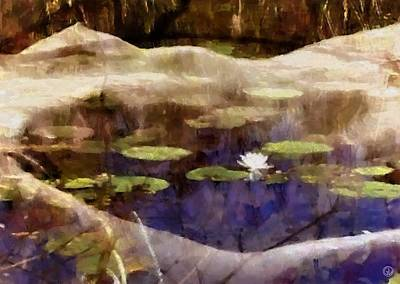 Female Body Digital Art - Lily Of The Pond by Gun Legler