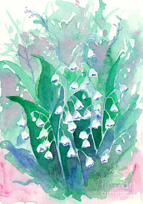 Painting - Lily Of The Valley Blue  by Cathie Richardson
