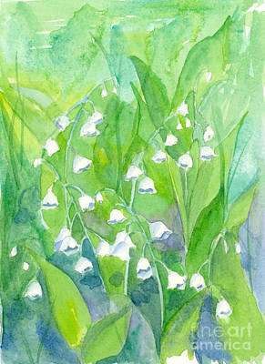Painting - Lily Of The Valley by Cathie Richardson