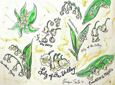 Painting - Lily Of The Valley by Monique Faella
