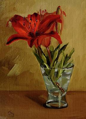 Painting - Lily Oh Lily by Grace Diehl