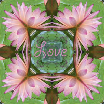 Lily Pad Love Art Print