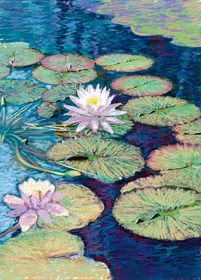 Lily Pads Art Print by Valer Ian