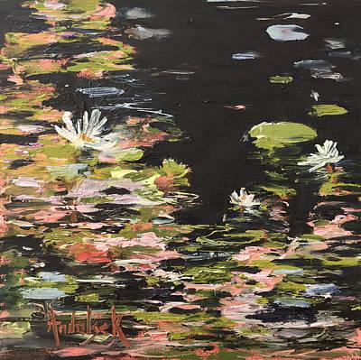 Painting - Lily Pond by Barbara Andolsek